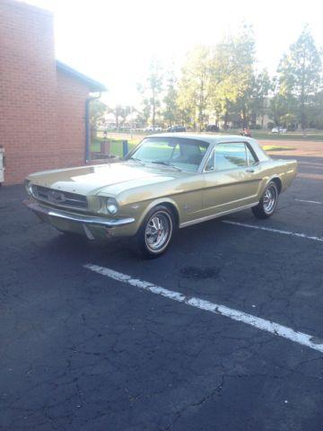 FORD MUSTANG 1965,COUPE ,289,C CODE,V8,AUTO,PONY INTERIOR,PWR STRG,PWR BRAKES,