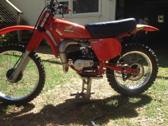 1977 HONDA CR125 Elsinore