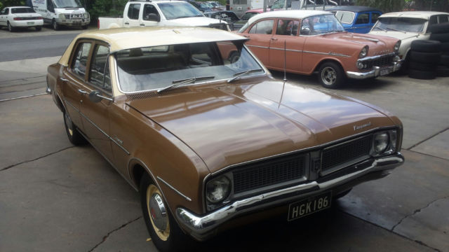 Holden Kingswood (1971) 4D Sedan 3 SP Automatic (3.3L - Carb)