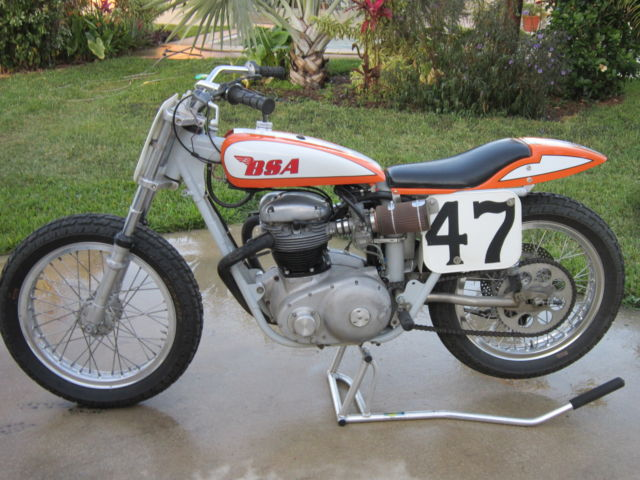 BSA : TRACKMASTER FLAT TRACK RACER