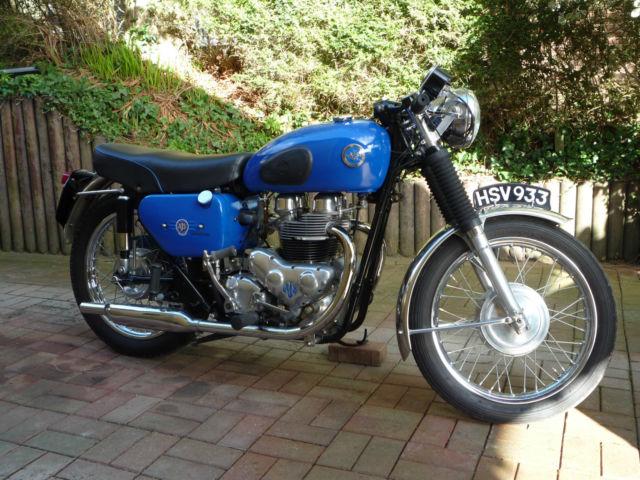 AJS MODEL 31 650cc 1960