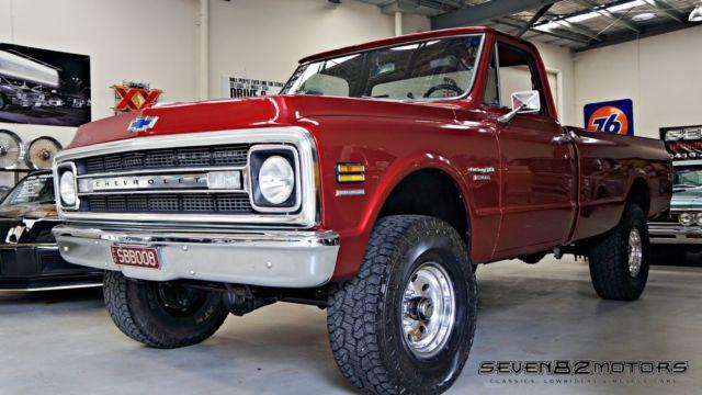 1970 Chevy C10 4x4 pick up truck. C20, C30 Silverado, F100 F150, GMC ute