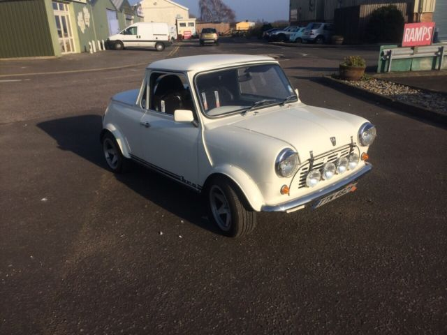 1983 AUSTIN MINI 1000 CITY E WHITE