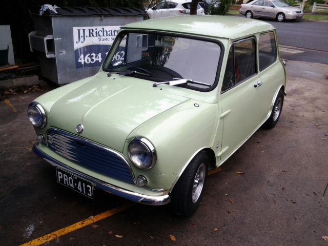 Morris Mini K 1100 (1970) 2D Sedan Manual (1.1L - Carb) Seats