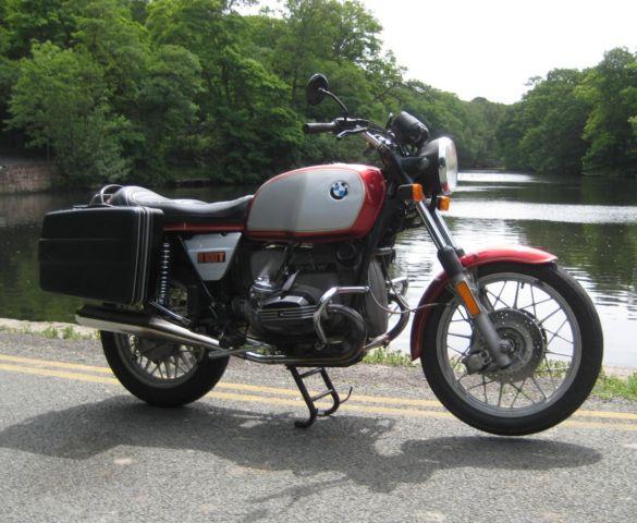 BMW  R100  T     rare classic tourer with panniers