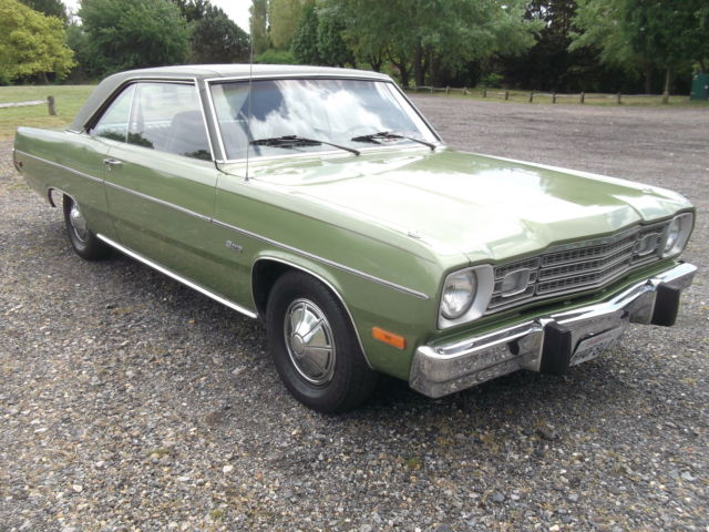 1973 PLYMOUTH SCAMP COUPE, ( DODGE DART ) 3.8 LITRE AUTO, POWER STEERING