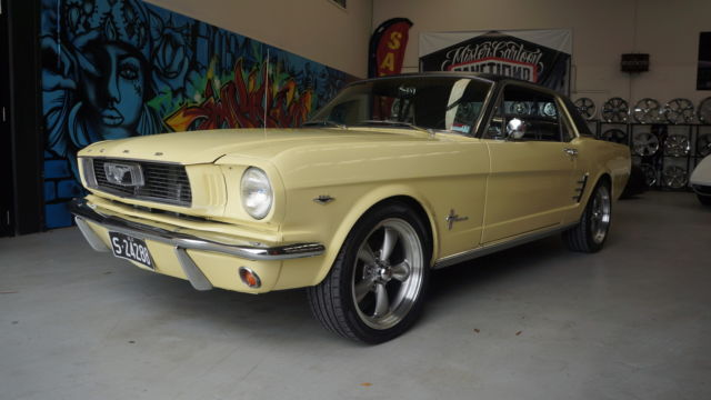 1966 MUSTANG COUPE, 289 V8, AUTO, AIRCON, POWER STEER