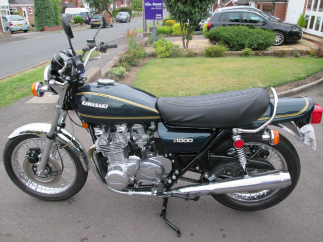 kawasaki z1000 a1 1977 in superb condition relisted due. Black Bedroom Furniture Sets. Home Design Ideas