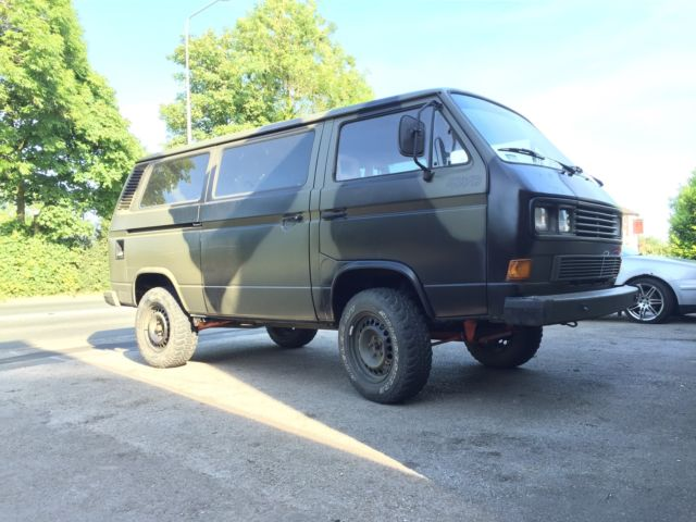 VW t25 t3 Transporter Syncro 4x4 Rare classic For Sale