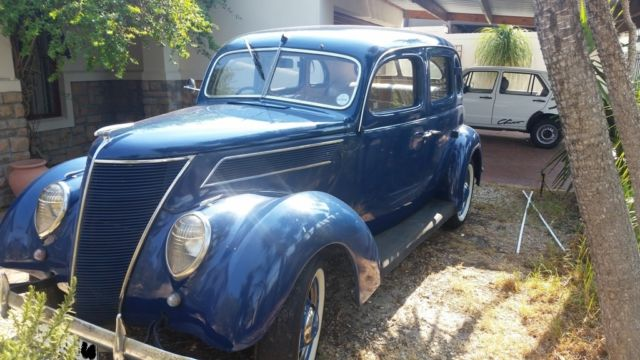 VERY RARE 1937 FORD HUMPBACK - ONLY ONE FOR SALE IN THE UK AND RHD