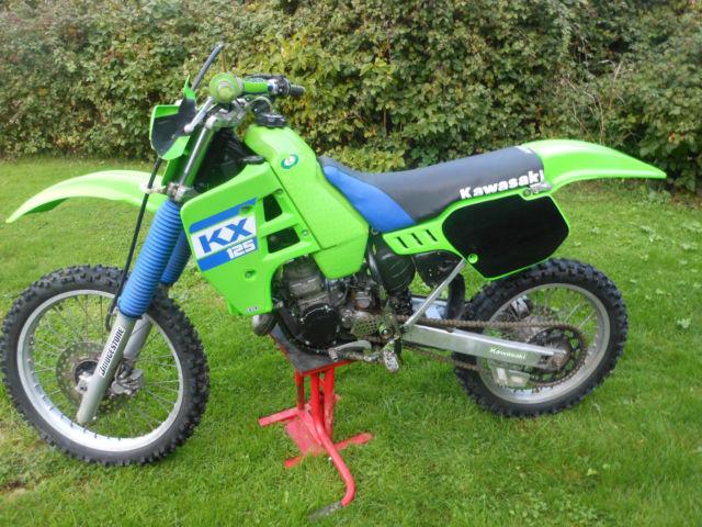 kawasaki kx 125 1988 evo motocross for sale colchester, united