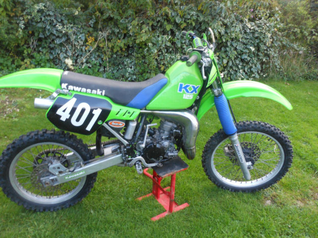 Kawasaki Kx 125 1988 EVO MOTOCROSS For Sale Colchester United
