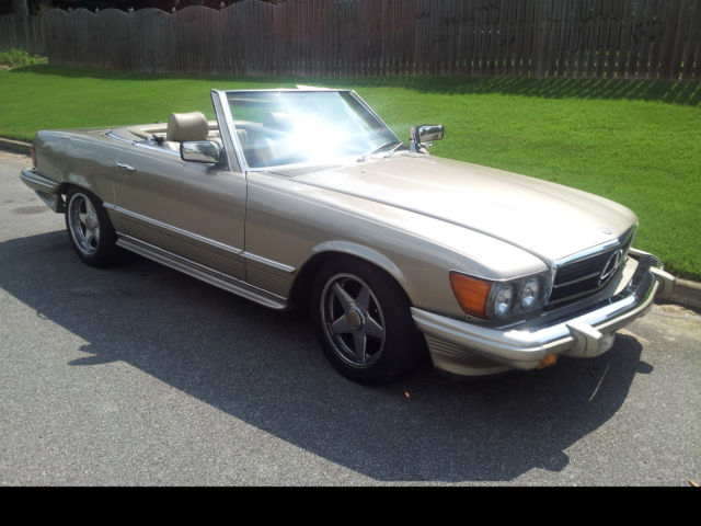 1985 Mercedes Benz 380 SL