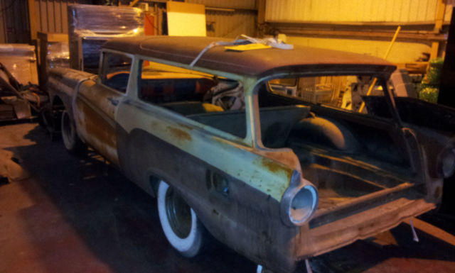 Rare American 1957 Ford Del Rio 2 door Station Wagon, Hotrod, NO