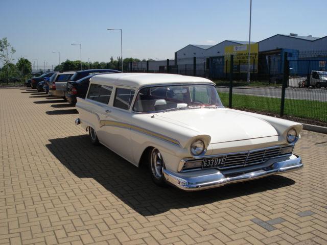 Rare american 1957 ford del rio 2 door station wagon for 1957 ford 2 door ranch wagon sale