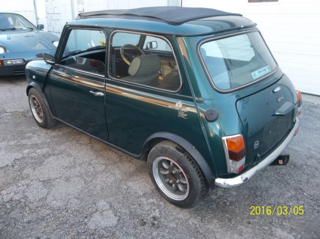 1992 Austin Mini John Cooper Classic R H Drive For Sale