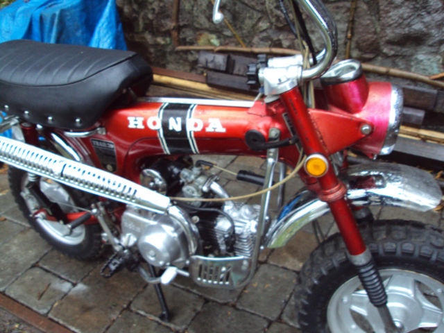 1971 Honda CT70 Trail 70 Vintage CT 70 Motorcycle