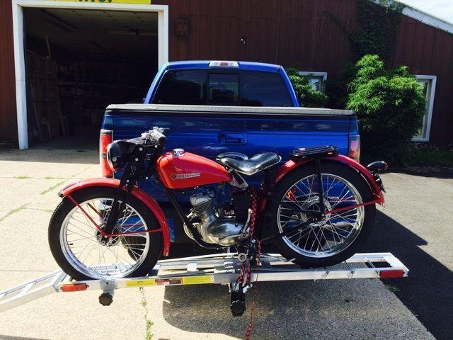 harley davidson hummer 125 cc restored