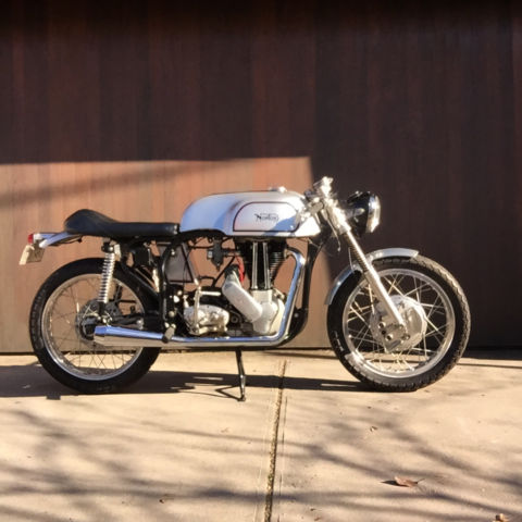 Norton 1948 ES2 Motorcycle