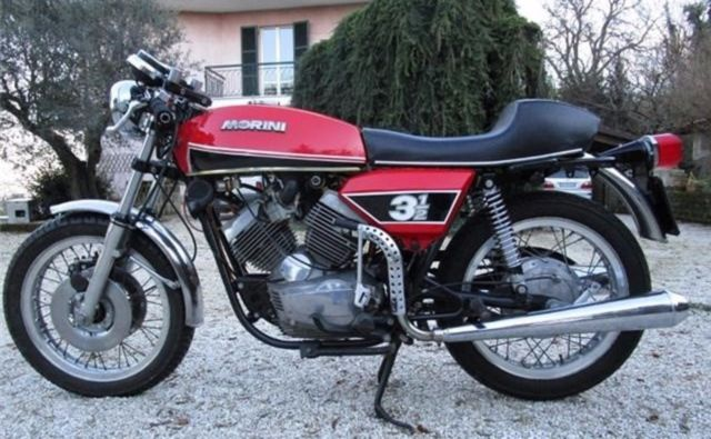 Stunning 1976 Moto Morini 3 1/2 Sport - Total conservative restoration !!!