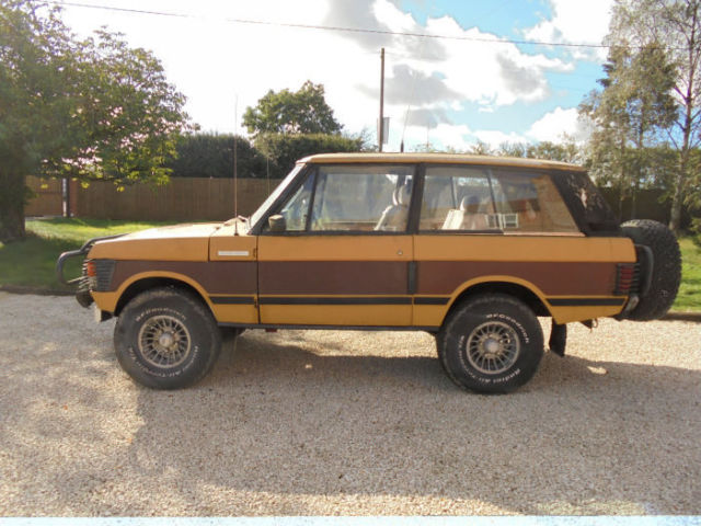 1977 Range Rover suffix D for restoration with many period Extras