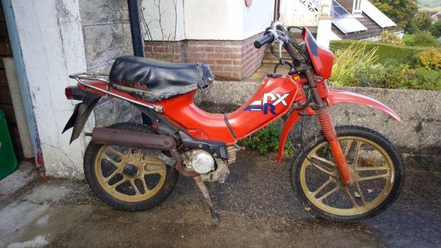 Honda PXR 50 Moped (1985)