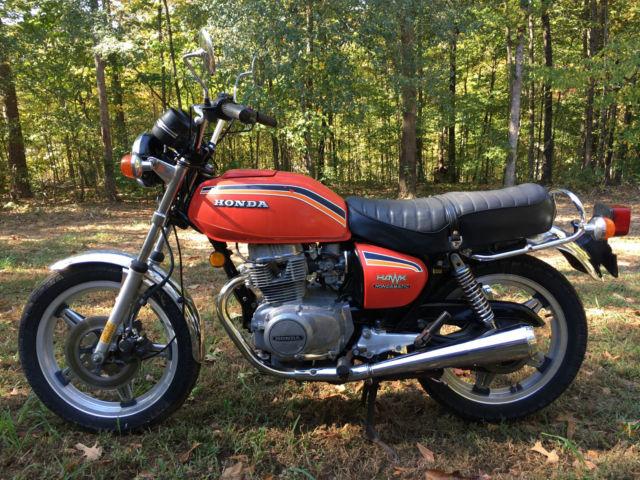 1978 Honda CB400A hondamatic automatic