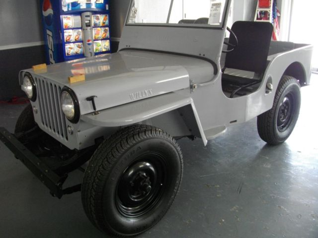 1948 WILLYs jeep CJ W/PTO