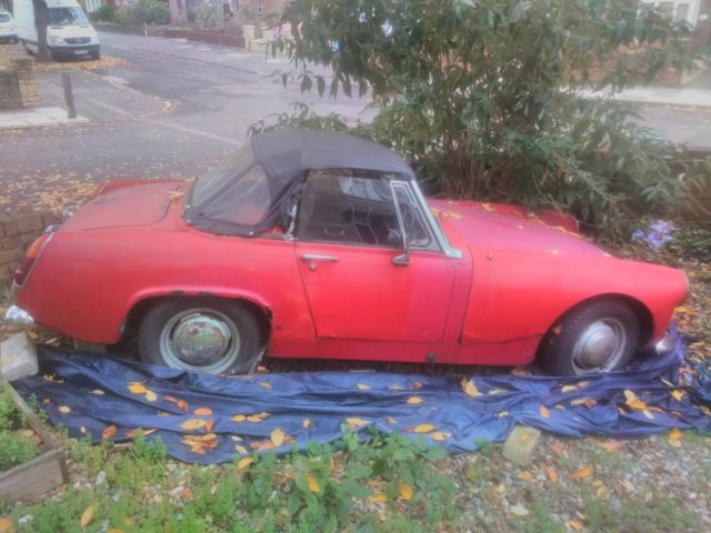 mg midget 1968 in need of full restoration