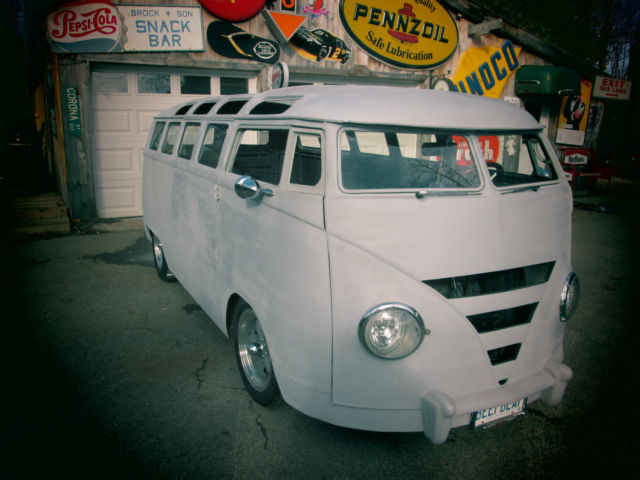 1964 VW Bus ONE OFF TOTAL CUSTOM chevy powered, hotrod, chopped channelled lowrd