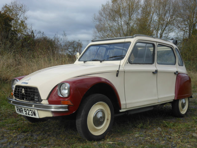 1981 CITROEN DYANE 6. Attractive, solid, running well and with a brand new MOT