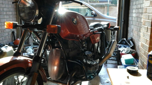 BMW R45 Vintage Motorbike