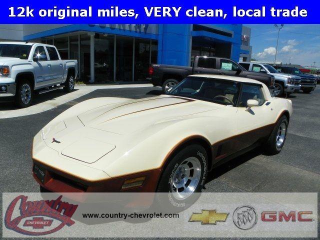 1981 Chevrolet Corvette Base Call Lamar Davis Internet Manager 270-703-8633