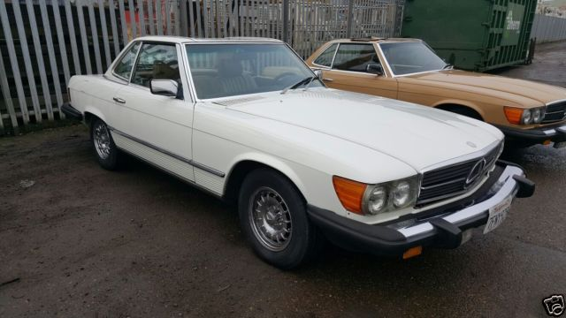 MERCEDES-BENZ 380 SL  CONVERTIBLE 1983 85000 MILES GENUINE WITH HISTORY