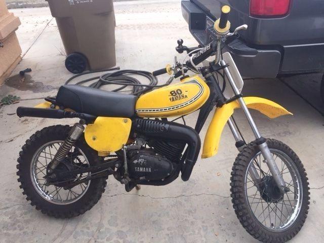 1976 Yamaha YZ80C