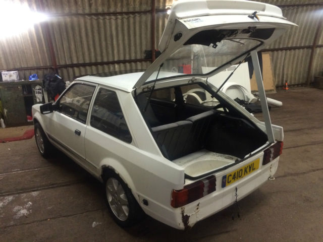 1985 ESCORT RS TURBO CUSTOM, SERIES ONE (1) WORTHWHILE PROJECT