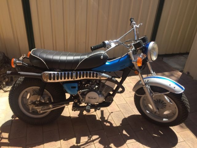 Suzuki rv 125 1975 vanvan beach bike