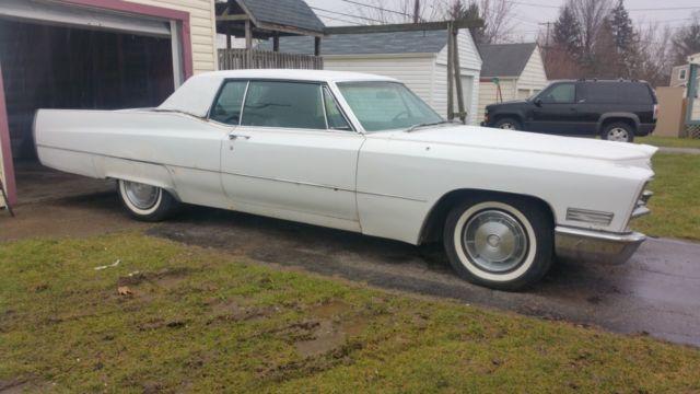2 1967 Cadillac Coupe Devilles - NO RESERVE
