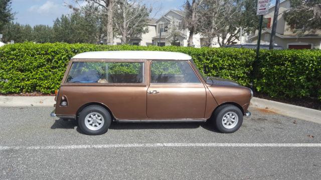 1974 Austin Mini Cooper 1000 Traveller Wagon Clubman Right-Hand Drive