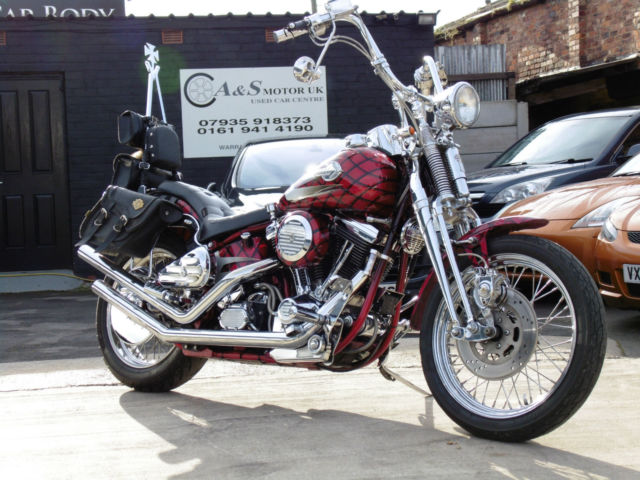 Harley-Davidson FXSTS SPRINGER SOFTTAIL 1340cc Custom Classic 1989