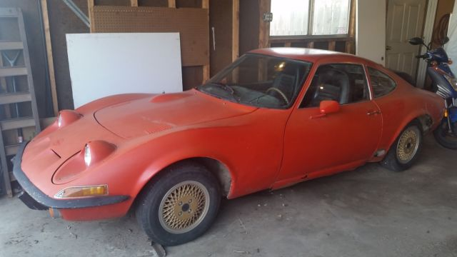 1973 Opel GT runs and drives