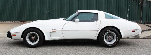 California Corvette, Original 25th Anniversary, 4 spd, Engine Sounds Amazing!
