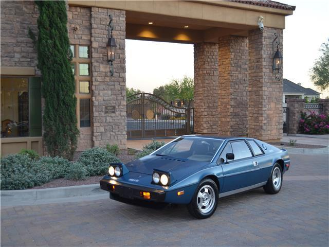 1977 Lotus Esprit S1 Coupe Exceptionally well documented all original car