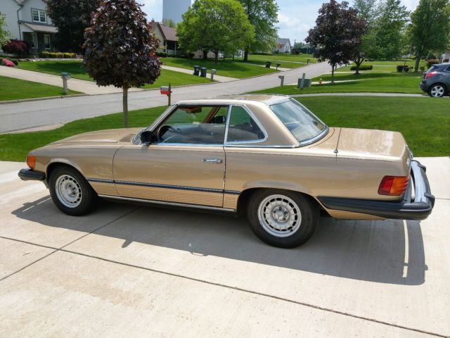 1983 Mercedes Benz 380 SL Roadster