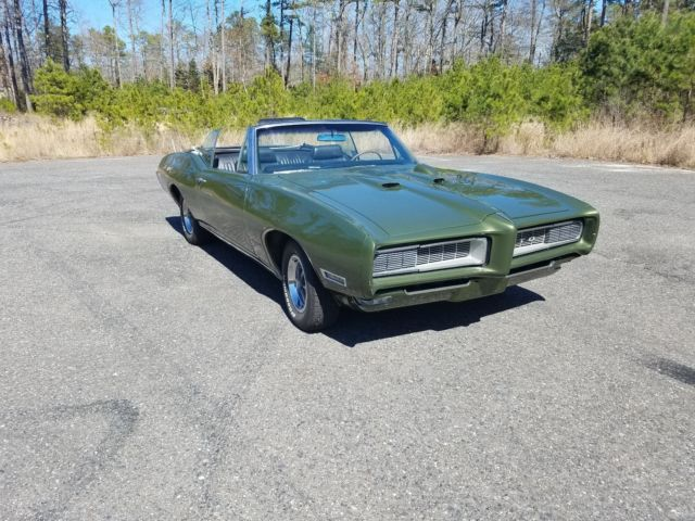 1968 Pontiac GTO Convertible four speed air conditioning