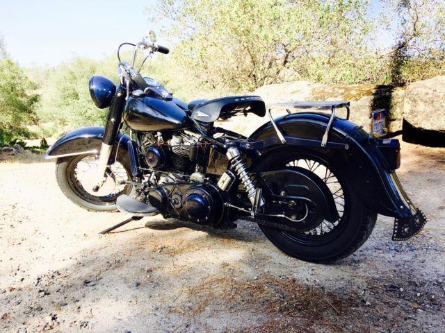 1958 Harley Davidson Fl Duo Glide