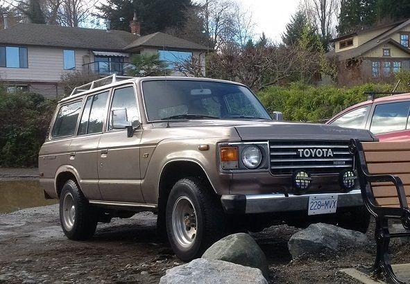 1987 Toyota Land Cruiser 1987 HJ60