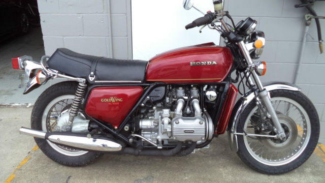 HONDA GL1000 Goldwing, original 1975