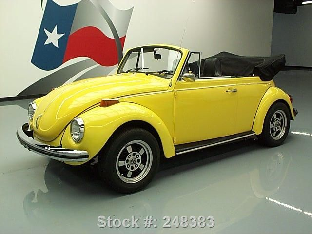 1972 Volkswagen Beetle - Classic 1972  BEETLE CLASSIC CABRIOLET 1600CC 4SPEED