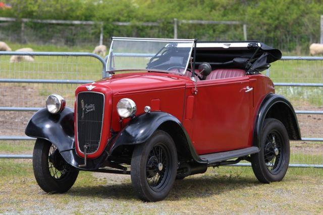 """1936 Austin 7 """"Seven"""" Opal Tourer"""
